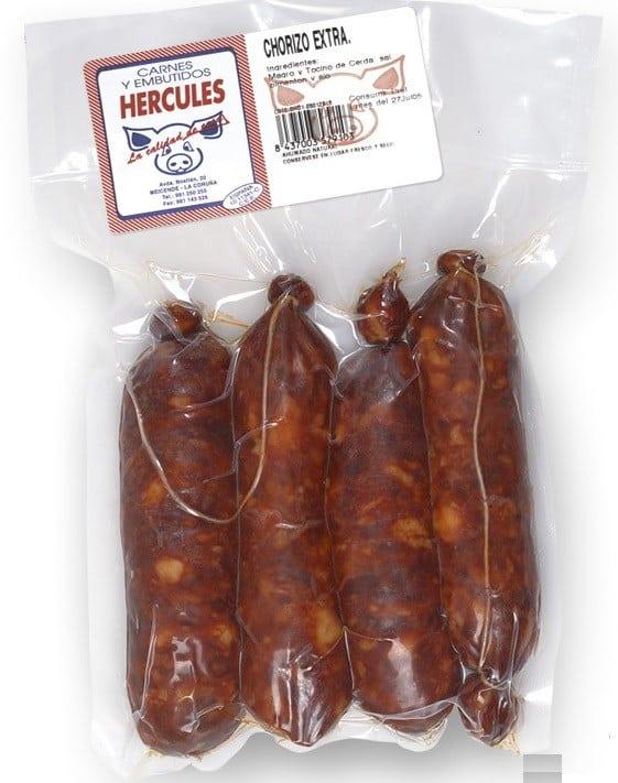Chorizo Extra pack 4 unidades